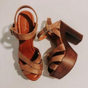 Quipid Block Heels